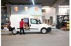 Fiat Doblò Cargo, Laderaum, Seite