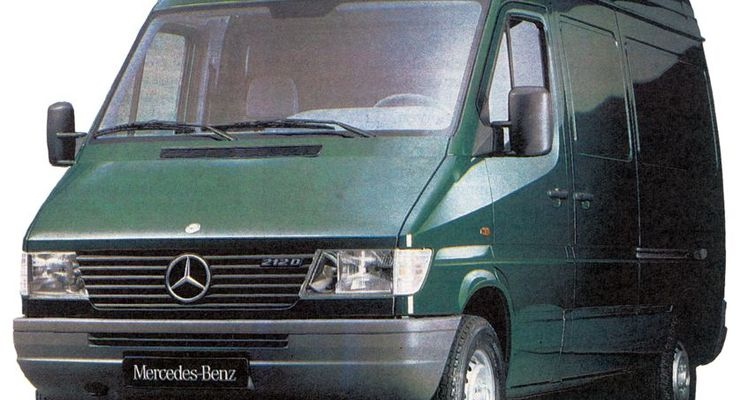 1995, Mercedes-Benz, Sprinter