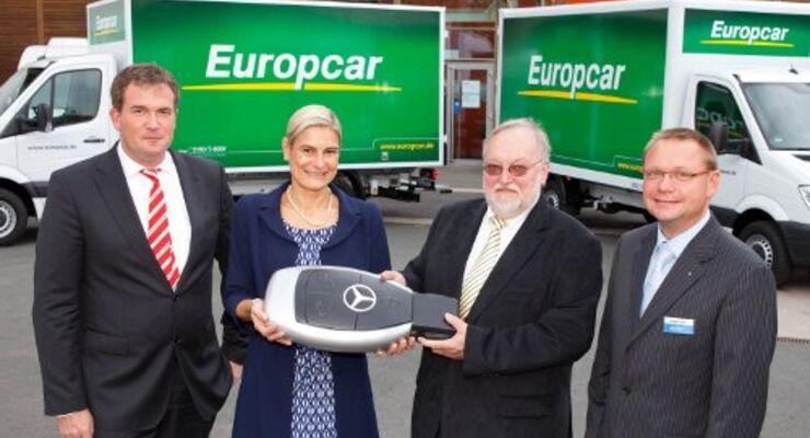 200 Sprinter für Europcar