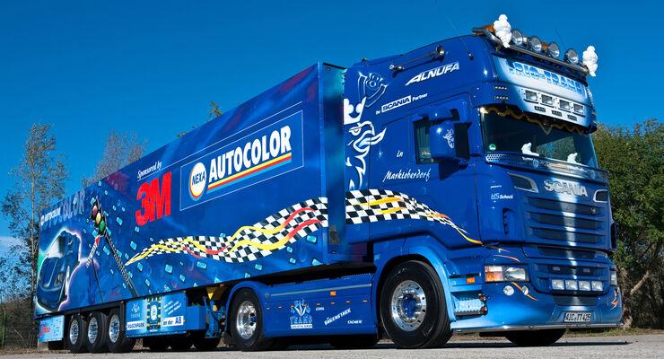 3M-Truck von Trio-Trans, Supertruck, Alnufa, Scania