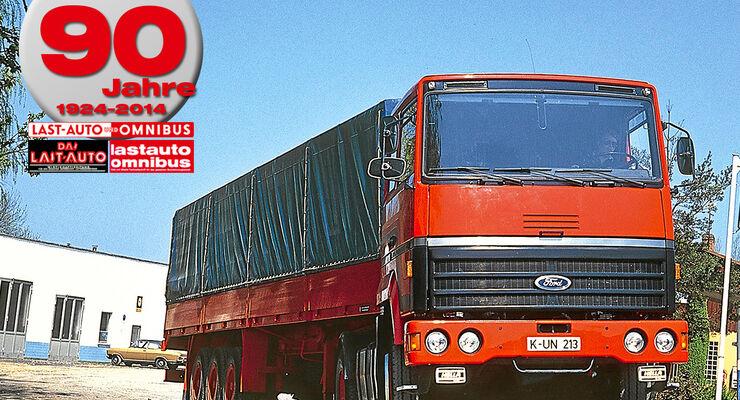 90 Jahre lastauto omnibus, Transcontinental, Ford