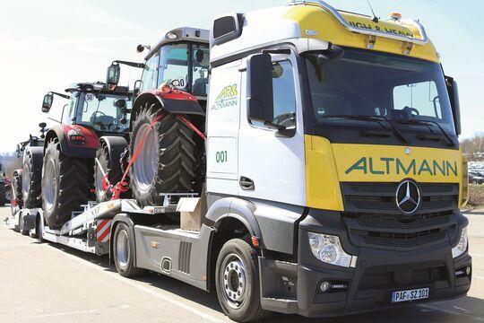 ARS Altmann setzt auf Sondertransporte