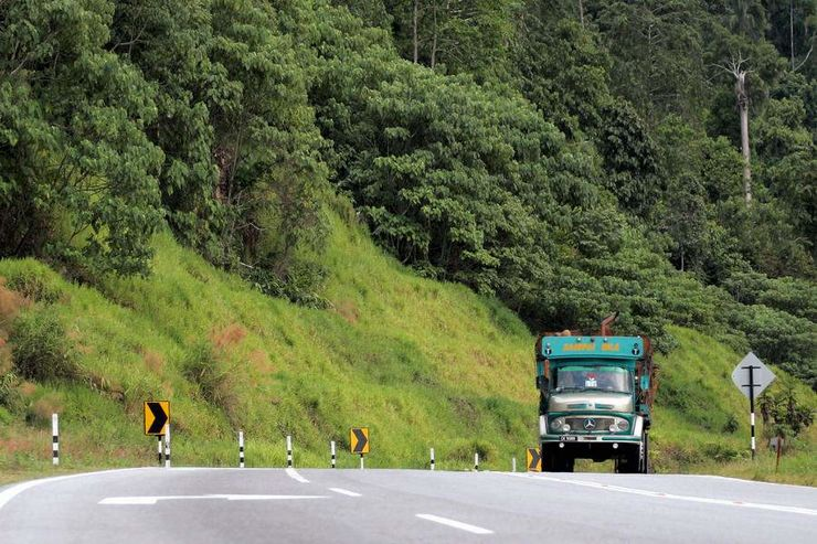 Abenteuer, Malaysia, Lkw