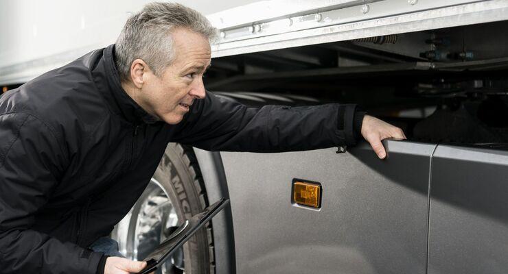 Abfahrtskontrolle mit Scania One