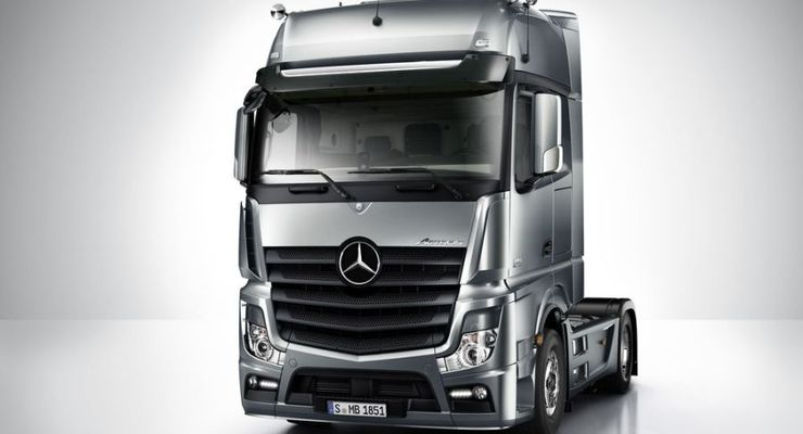 Actros, 2011, Kabine, Frontansicht