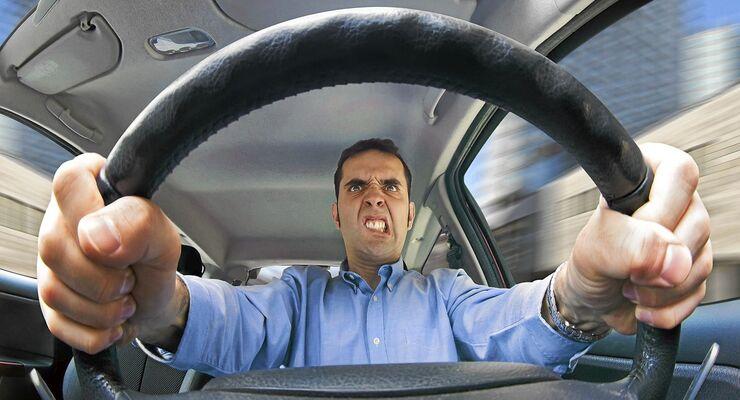 Aggression, Fahrer, Fahren