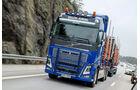 Auf Tou mit dem Volvo FH16
