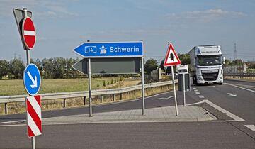 Ausbau A14, B198 Magdeburg -> Schwerin, Report FF 10/2018.
