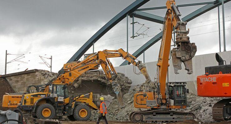 Ausbau der Schienen-Infrastruktur.