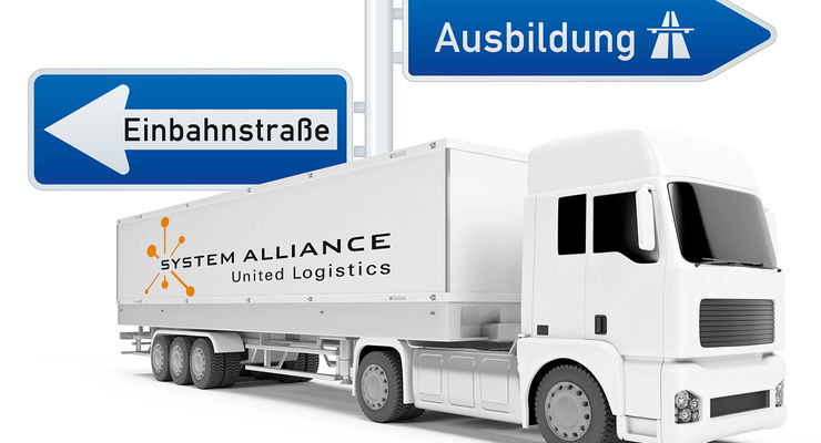 Ausbildung bei der Stückgutkooperation System Alliance.