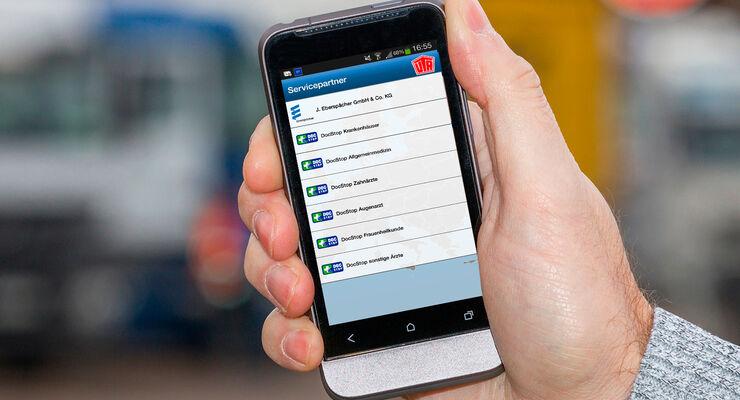 Autohöfe App