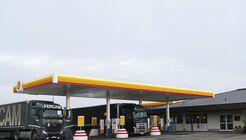 Autohof Shell Kirchberg Fercam Tankstelle Truckstop FF 4/2019