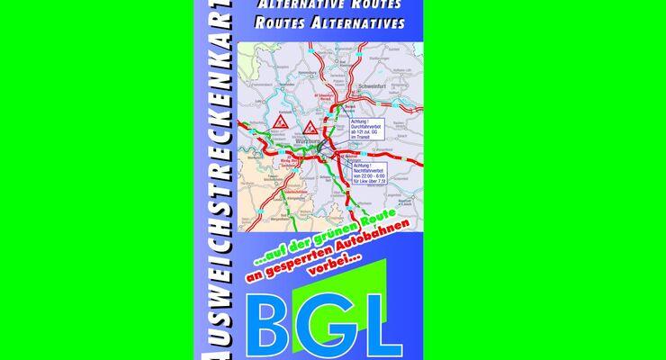 BGL Ausweichstreckenkarte 2015