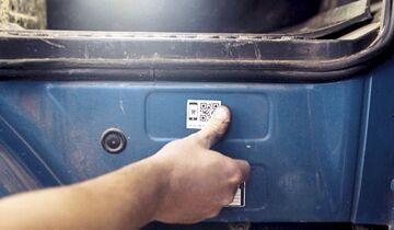 BPW - QR-Code - Identifikation - Nachmarkt - Ersatzteilbestellung
