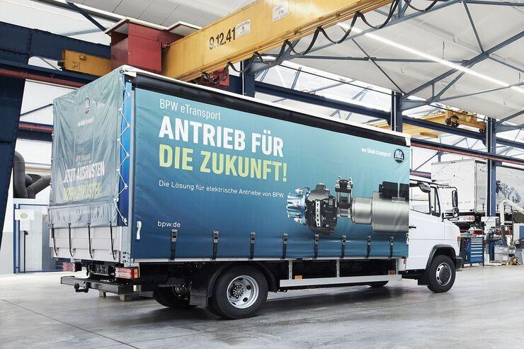 BPW e-Transport Elektro-Lkw 2021