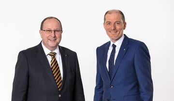 BVL: Thomas Wimmer (li.) und Robert Blackburn.