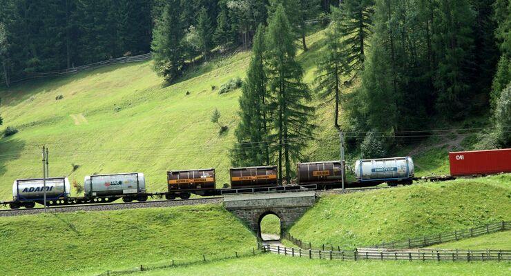 Bahn, Güterverkehr, Schiene