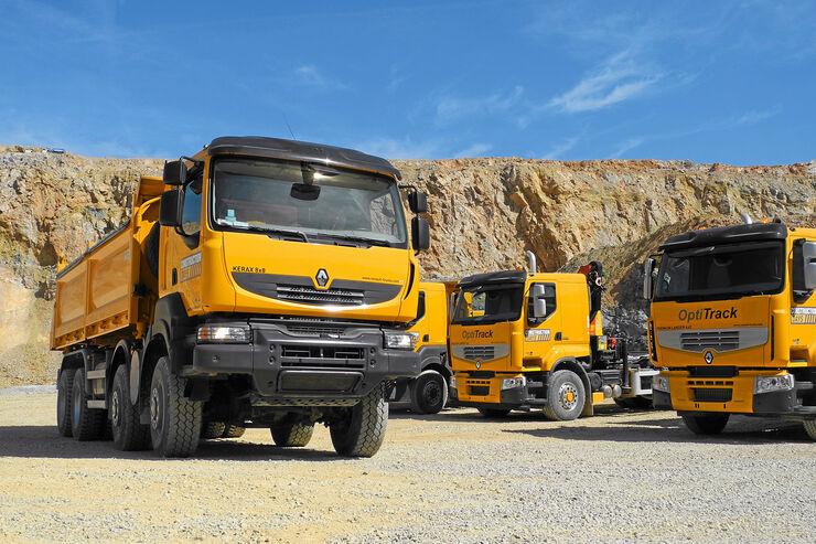Bauprogramm von Renault Trucks, Baureihen