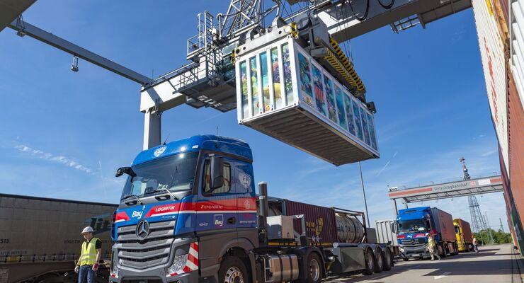 Bay Logistik, Container, Nemo, KV