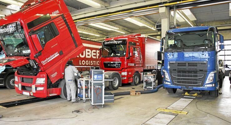 Berger Truck Service, Werkstatt, Wörgl