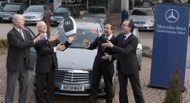 Boehringer ordert 1.300 Mercedes-Benz