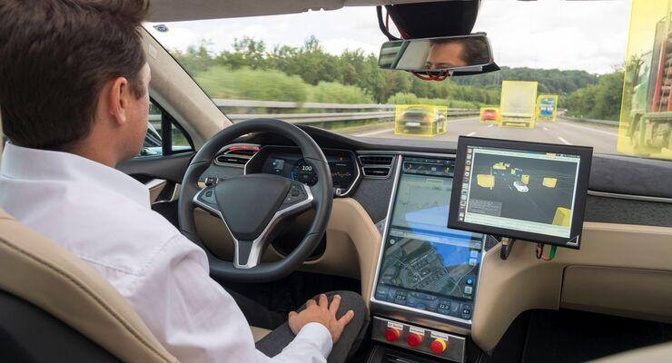 Bosch, autonomes Fahren, Auto