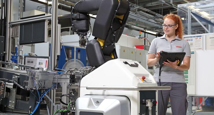 Bosch setzt auf die Digitalisierung.