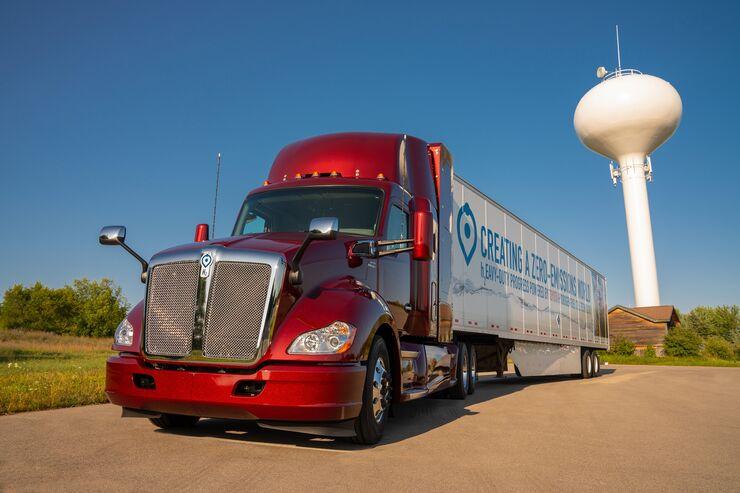 Brennstoffzellen-Truck von Toyota