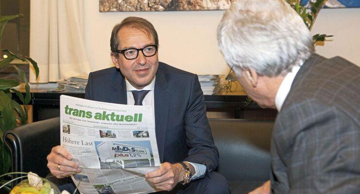 Bundesverkehrsminister Alexander Dobrindt, Hans-Peter Colditz