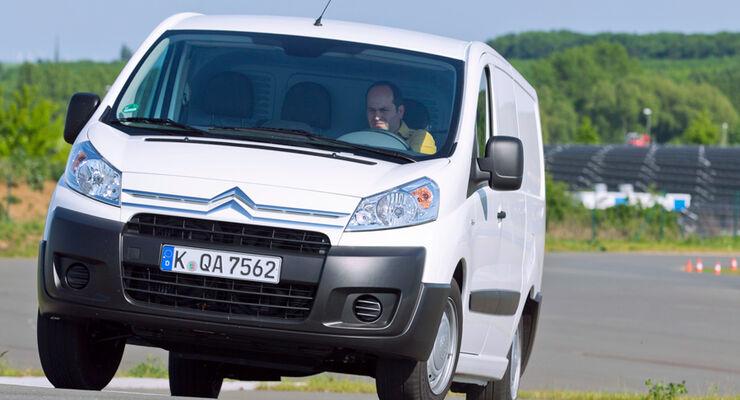 Citroën Jumpy, Fahrbericht
