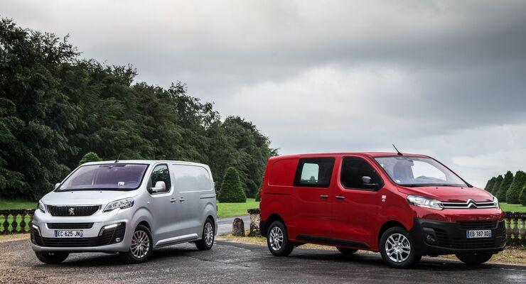 Citroën Jumpy und Peugeot Expert
