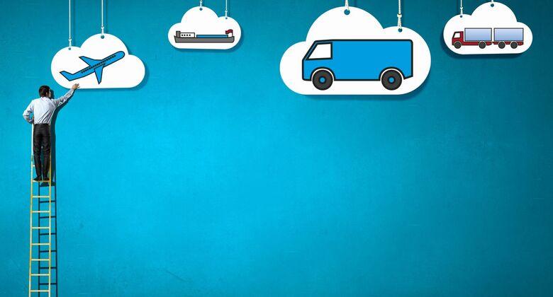 Cloud, Sendungsverfolgung, Montage