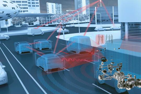 Connected Transport Hintergrundgrafik 2018