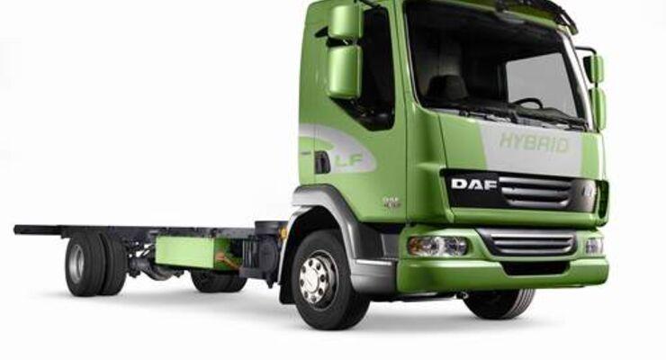 DAF LF Hybrid mit elektrischem Antrieb von Eaton