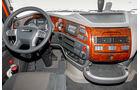 DAF XF und MAN TGX, Cockpit-Design