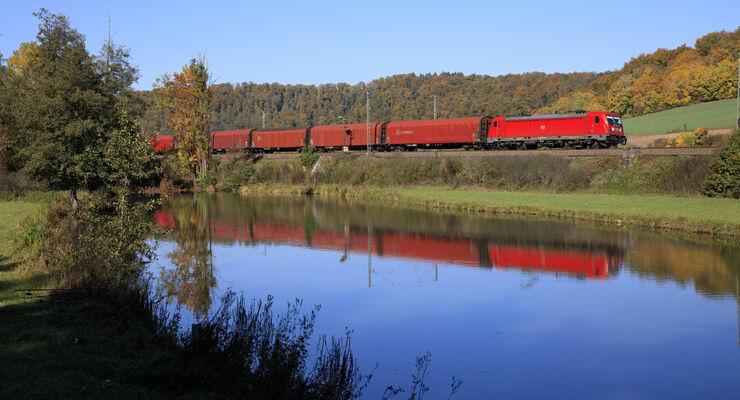 DB Cargo zwischen Treuchtlingen und Pappenheim