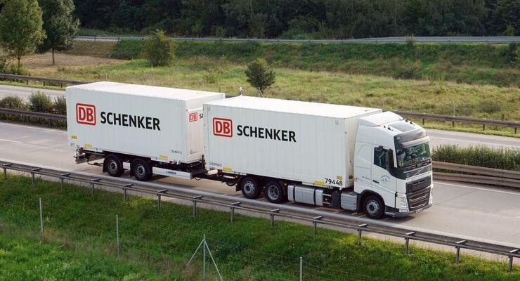 DB Schenker LKW