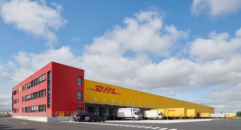 DHL Freight Frachtzentrum in Hannover-Langenhagen