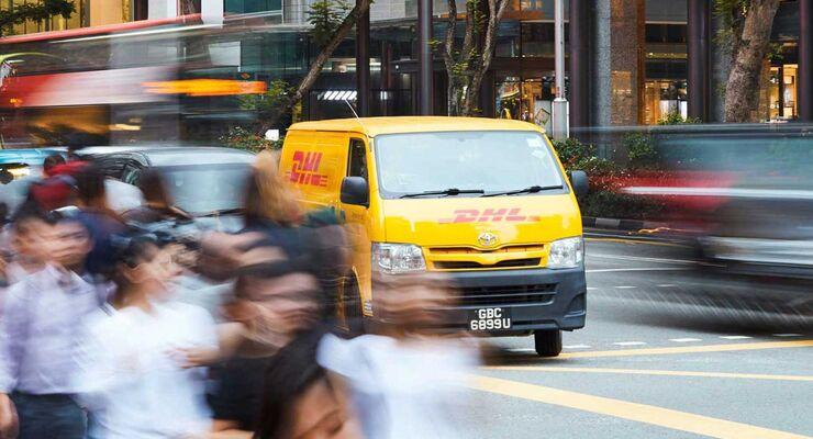 DHL, letzte Meile, Urbanisierung, E-Commerce, Logistik
