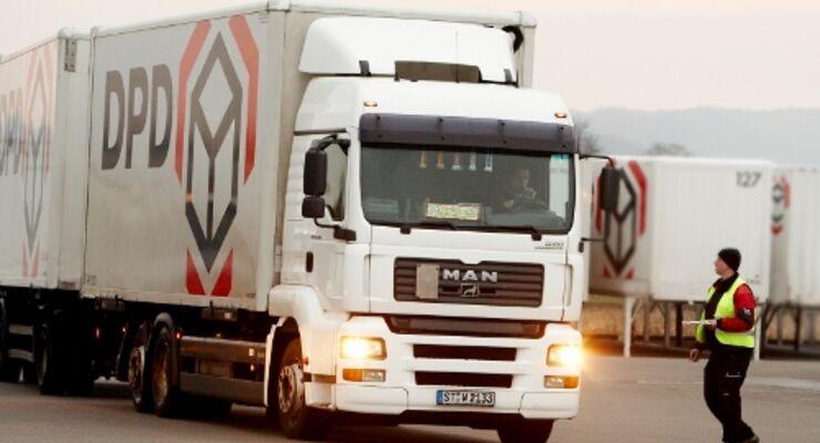 DPD setzt auf überlange Lkw