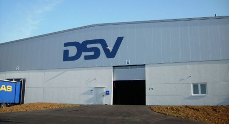 DSV erweitert Logistikterminal