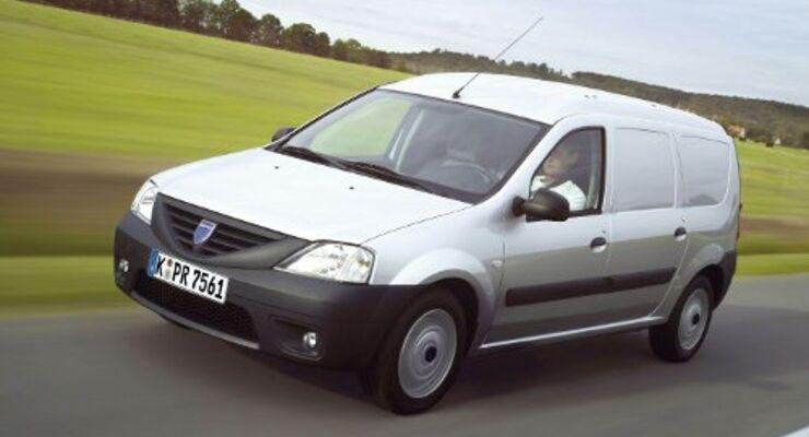 Dacia fasst bei Kleintransportern Fuß