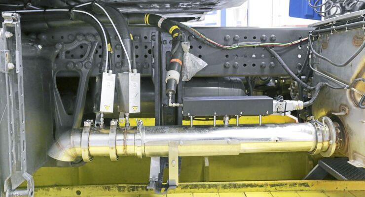 Daimler, Abgas, Motor