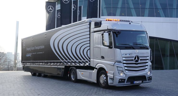 Daimler, Actros, Platooning