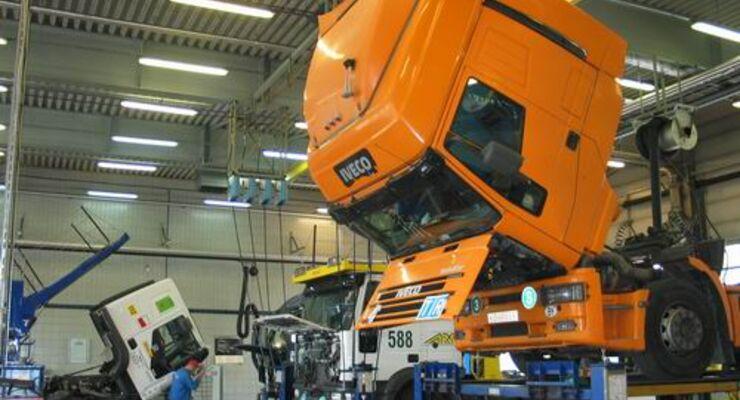 Daimler, Iveco und Schmitz Cargobull planen gemeinsame Allround-Werkstatt