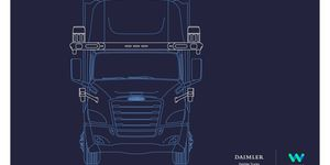 Daimler Trucks und Waymo kooperieren bei der Entwicklung autonomer SAE Level 4-Lkw