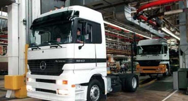 Daimler beendet Kurzarbeit vorzeitig