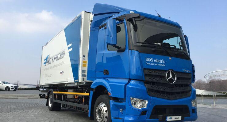Daimler, eActros