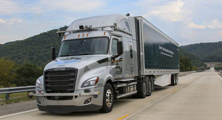 Daimler erprobt autonome Lkw