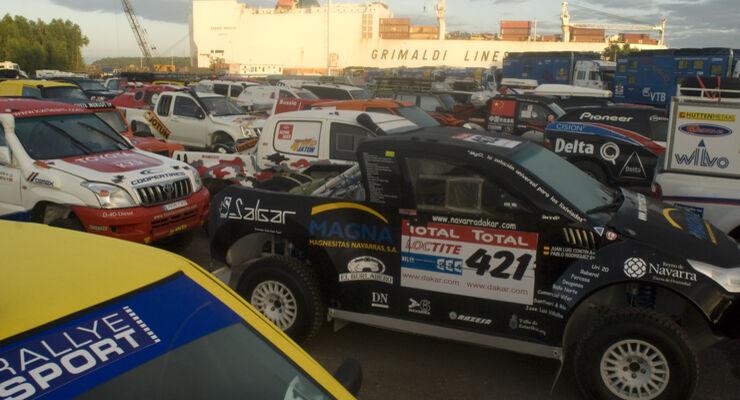 Dakar 2010 Boarding
